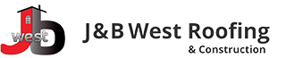 J & B West Roofing and Construction Logo